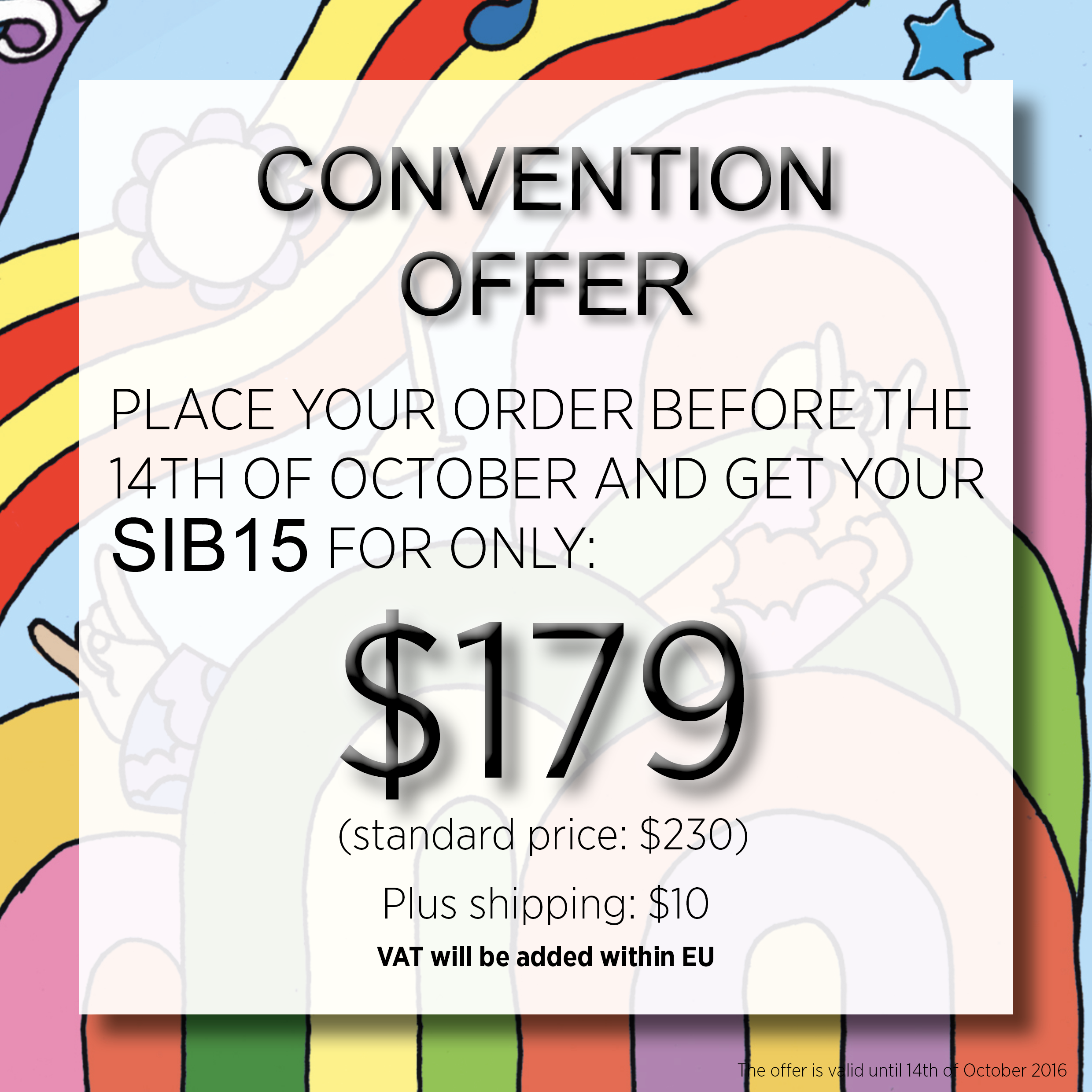 AES convention offer